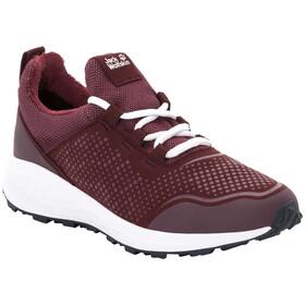 Jack Wolfskin Coogee WT Low Schuhe Damen burgundy/white